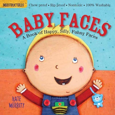 Indestructibles: Baby Faces - (Paperback)