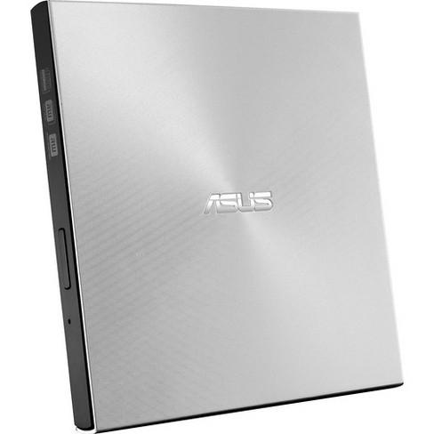 Asus ZenDrive SDRW-08U9M-U DVD-Writer - Silver - DVD-RAM/R/RW Support - 24x CD Read/24x CD Write/24x CD Rewrite - image 1 of 4