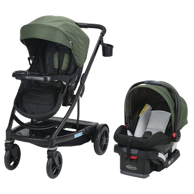 Graco Uno2Duo Travel System - Jules Green