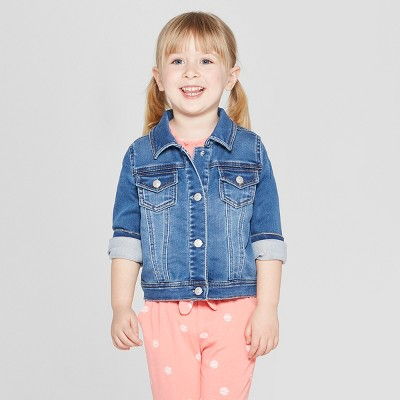 Toddler Girls' Jean Jackets - Cat & Jack™ Blue 18M