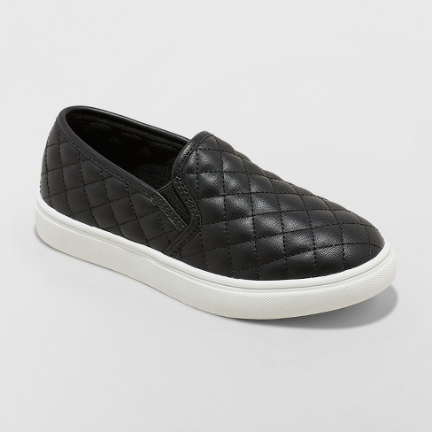 Girls' Maha Quilted Twin Gore Sneakers - Cat & Jack™ : Target