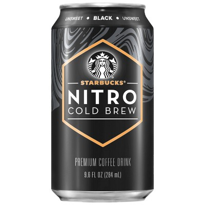 Coffee Drinks: Starbucks Nitro Cold Brew