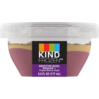 Kind Frozen Smoothie Bowl Almond Triple Berry Acai - 6oz
