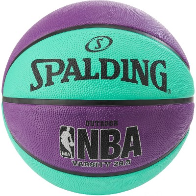 "Spalding Varsity 28.5"" Basketball - Purple/Teal"