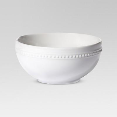 Round Beaded Bowl Porcelain 20oz Set of 4 - Threshold™