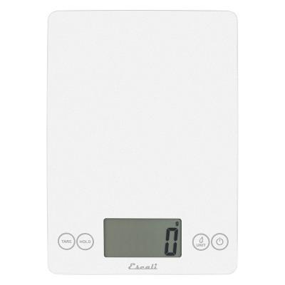 Escali Glass Arti Digital Kitchen Scale White