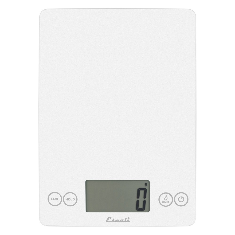 Image of Escali Glass Arti Digital Kitchen Scale White