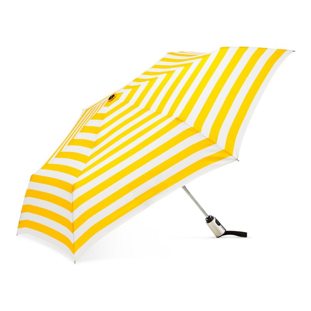 Image of Cirra by ShedRain Compact Umbrella - Yellow, Black