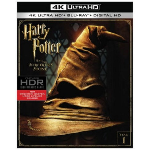 Harry Potter And The Sorcerer's Stone (4K/UHD + Blu-ray + Digital)