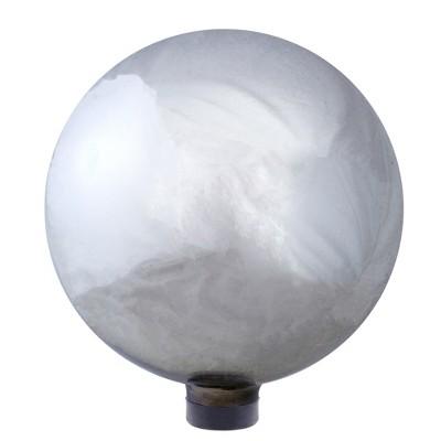 "Northlight 10"" Silver Mirrored Garden Gazing Ball"