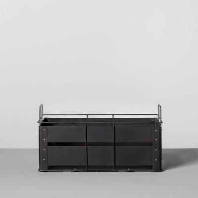 Metal Storage Bin Medium - Black - Hearth & Hand™ with Magnolia