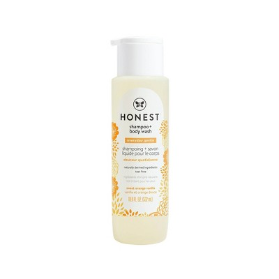 The Honest Company Sweet Orange Vanilla Shampoo & Body Wash - 18oz