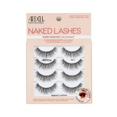 Ardell Naked 421 False Eyelashes - Black