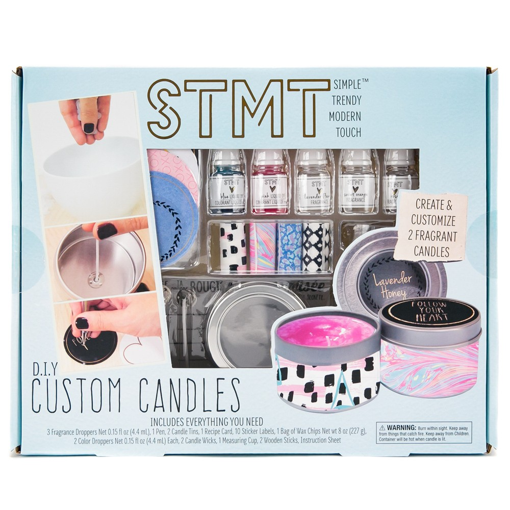 Image of STMT DIY Custom Candles, craft activity kits