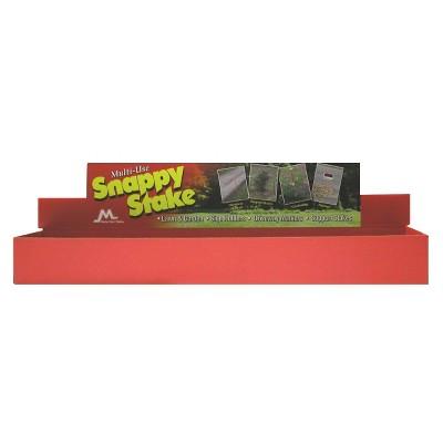 Snappy Stakes Display - Box of 24 - Master Mark Plastics