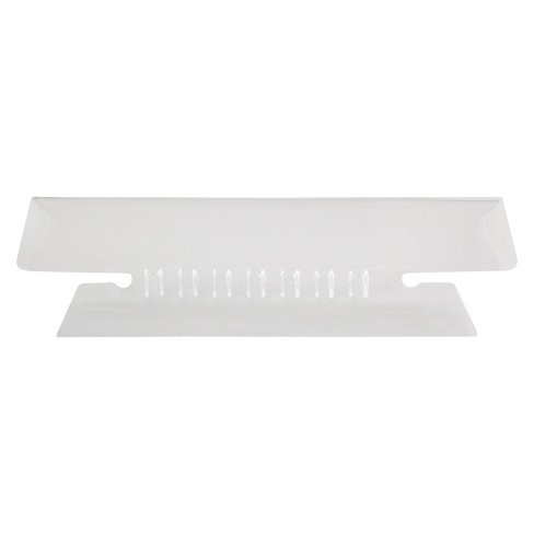 Pendaflex File Tab - White/Clear - image 1 of 1