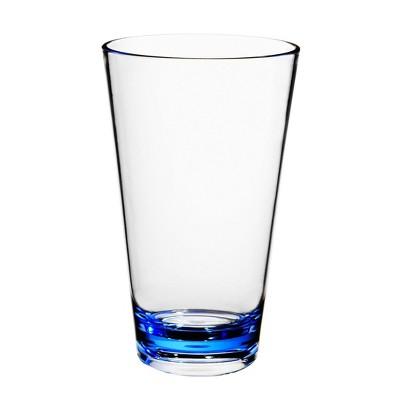 22oz Plastic Tall Tumbler Blue - Room Essentials™