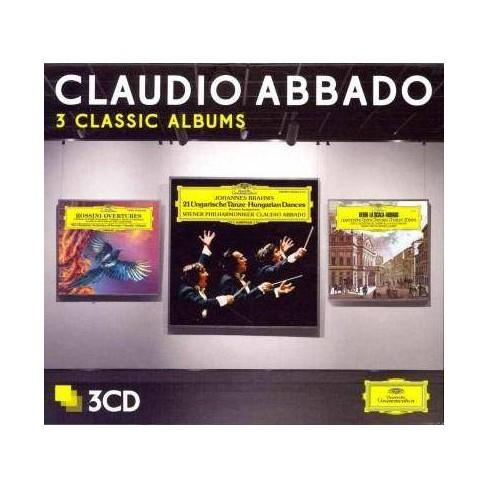 Claudio Abbado - Abbado: Three Classic Albums (CD) - image 1 of 1
