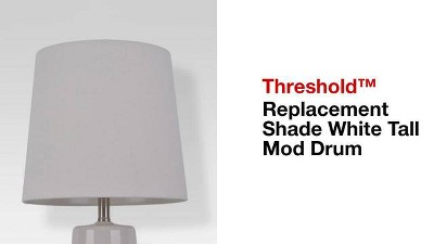 Replacement Shade White Tall Mod Drum - Threshold™