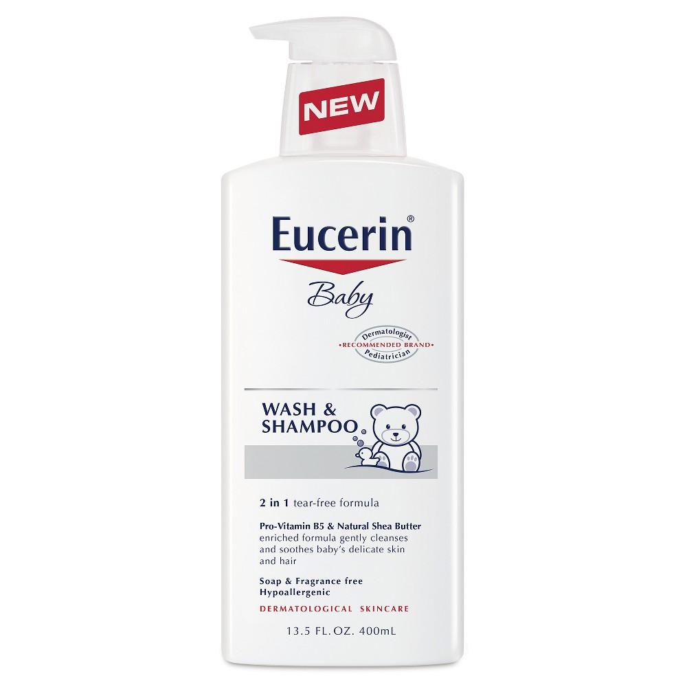 Eucerin Baby Wash & Shampoo - 13.5 oz