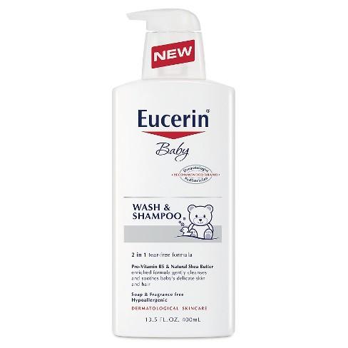 Eucerin Baby Wash Shampoo 13 5 Oz Target