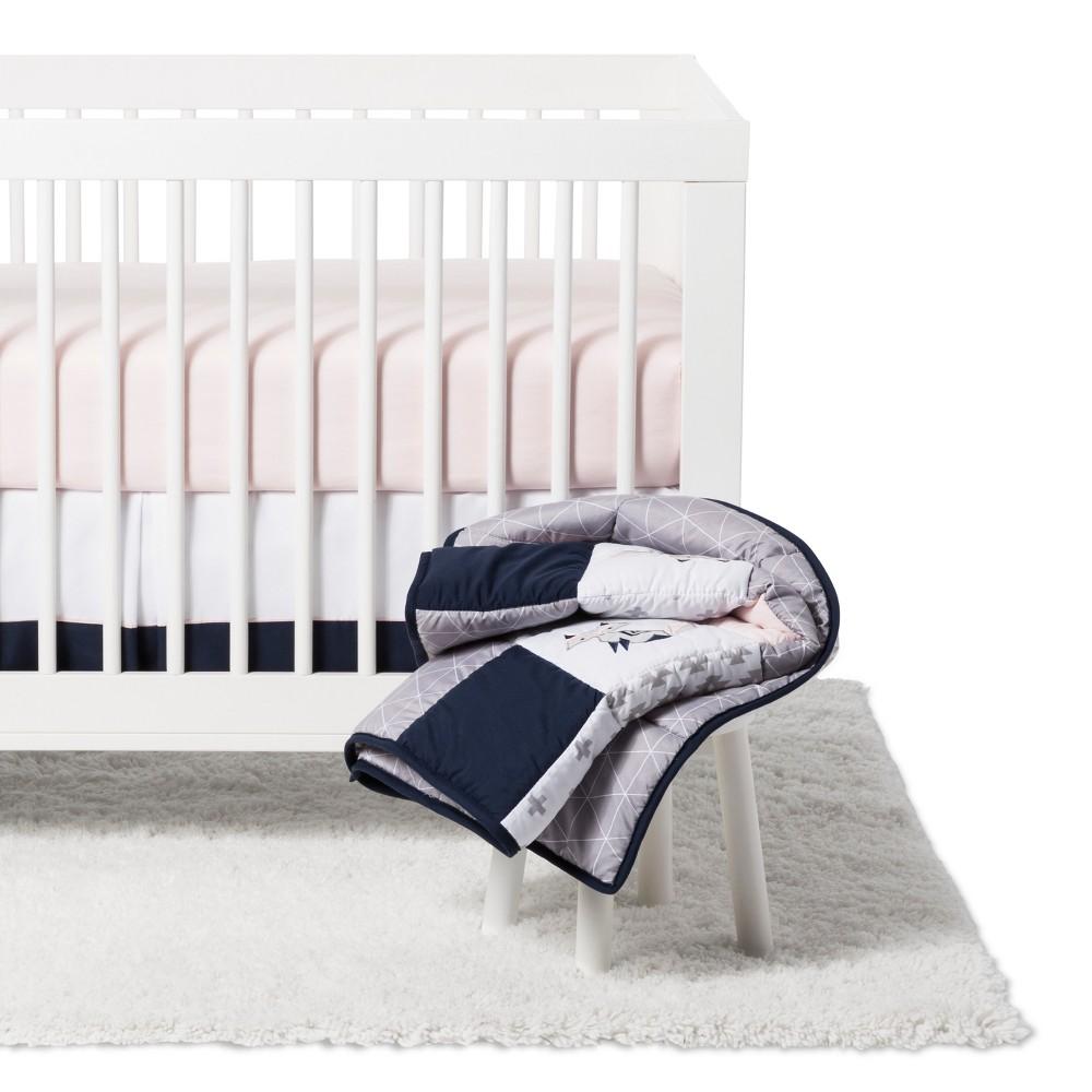 Sweet Jojo Designs Fox Patch 11 pc Crib Bedding Set