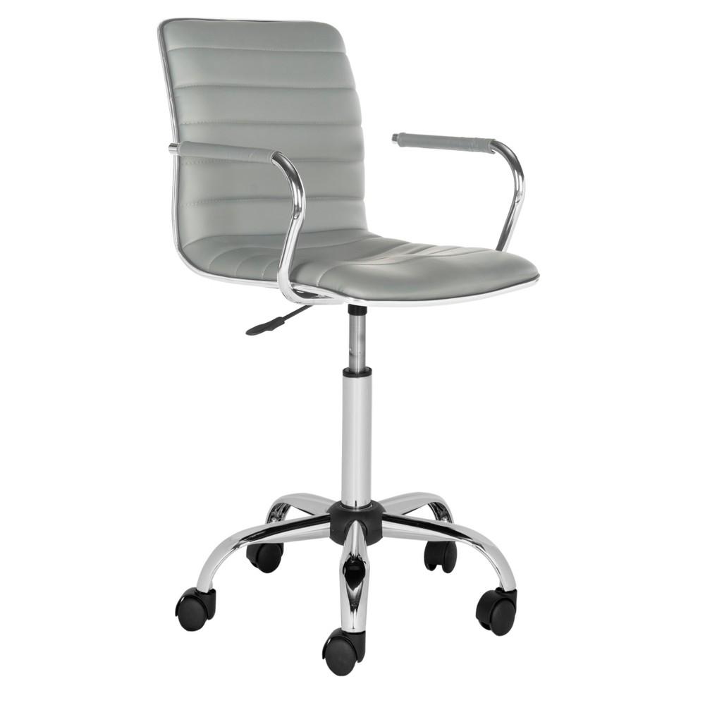 Suzy Desk Chair Gray - Safavieh