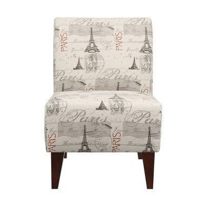 North Accent Slipper Chair Cream- Picket House Furnishings