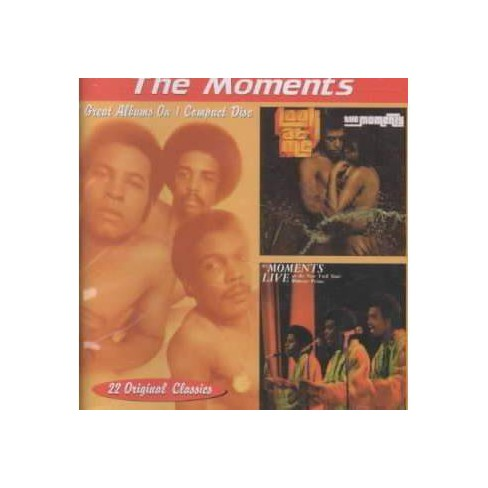 Moments (The) - Look at Me: Live at the New York Women's Prison (CD) - image 1 of 1