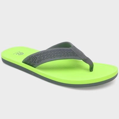 Men's Jeff Flip flop sandals - C9 Champion® Green M