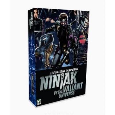 Valiant Card Game - Ninjak vs. The Valiant Universe Board Game