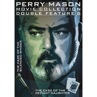 Perry Mason Double Feature: The Case of the Silenced Singer / Defiant Daughter (DVD)(2014)