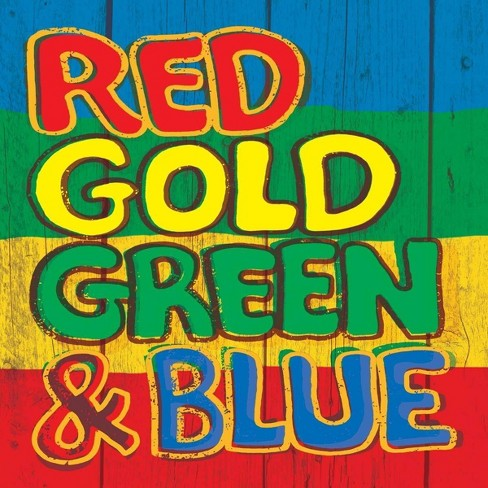 Various - Red Gold Green & Blue (CD) - image 1 of 1