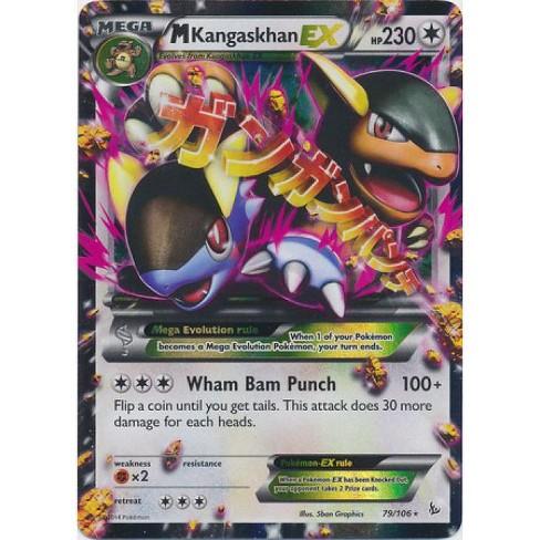 Pokemon X and Y Flashfire Ultra Rare Holo M Kangaskhan EX #79 - image 1 of 1