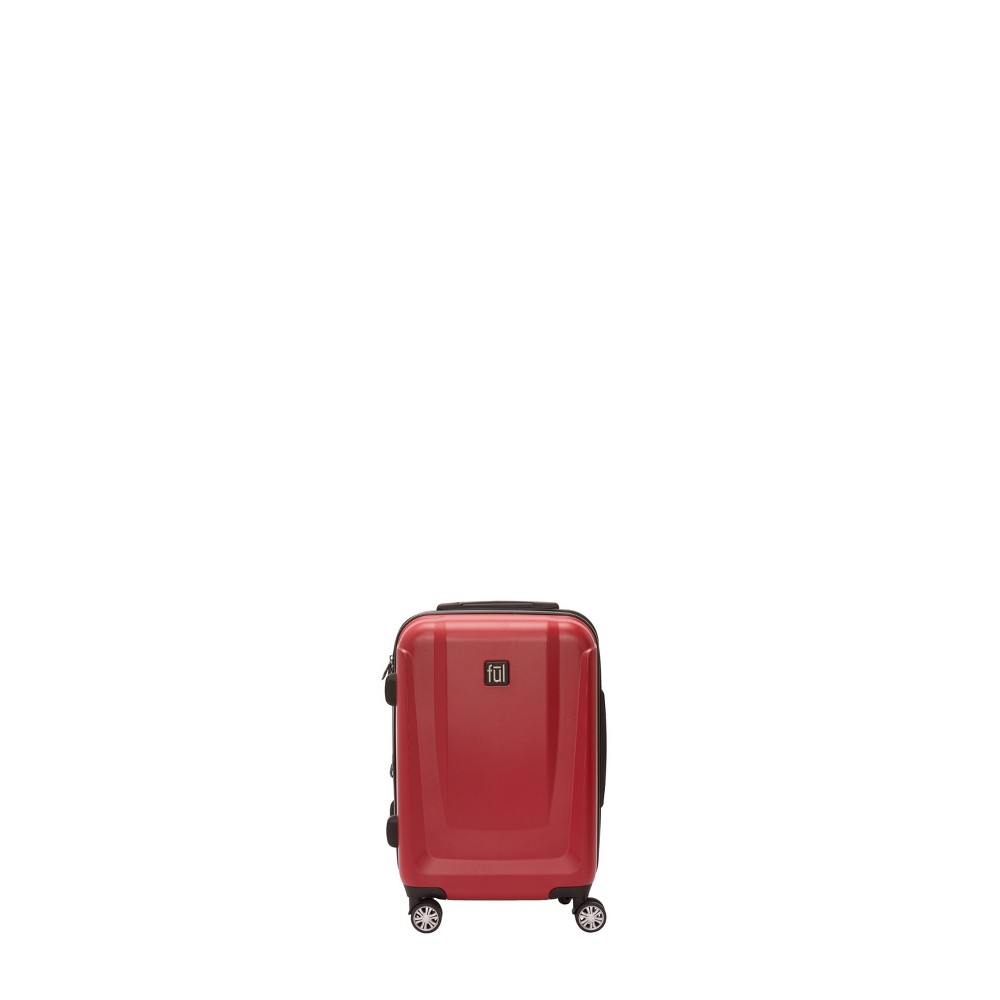 """Image of """"FUL 21"""""""" Load Rider Hardside Spinner Suitcase - Red, Size: Small"""""""