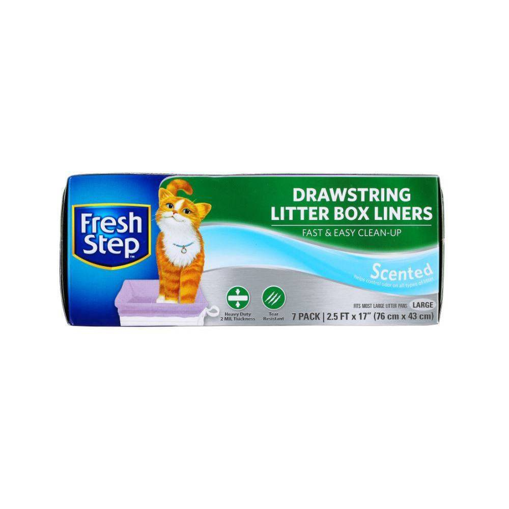 Fresh Step Scented Litter Box Liners For Cats L