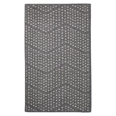 "20""x34"" Dot Kitchen Mat Gray - Room Essentials™"