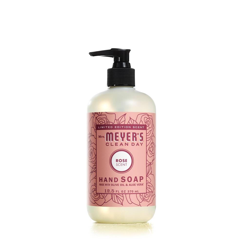 Mrs Meyer 39 S Clean Day Hand Soap Rose 12 5 Fl Oz