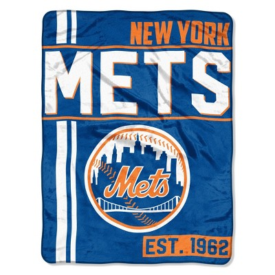 MLB New York Mets Micro Fleece Throw Blanket