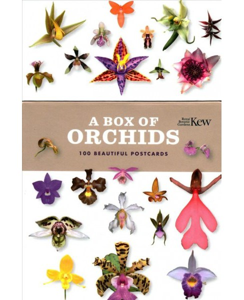 Box of Orchids : 100 Beautiful Postcards -  (Stationery) - image 1 of 1