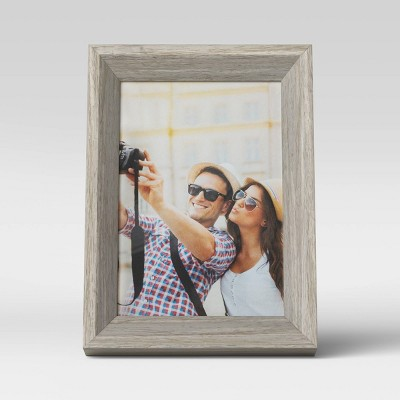 "4"" x 6"" Wedge Picture Frame Gray - Room Essentials™"