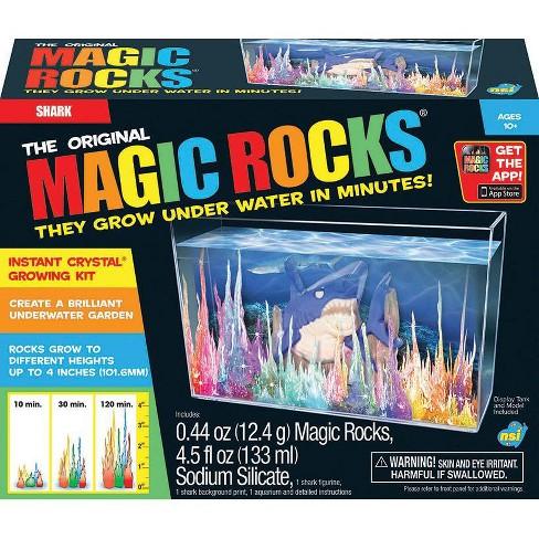 The Original Magic Rocks Crystal Growing Kit Shark Target