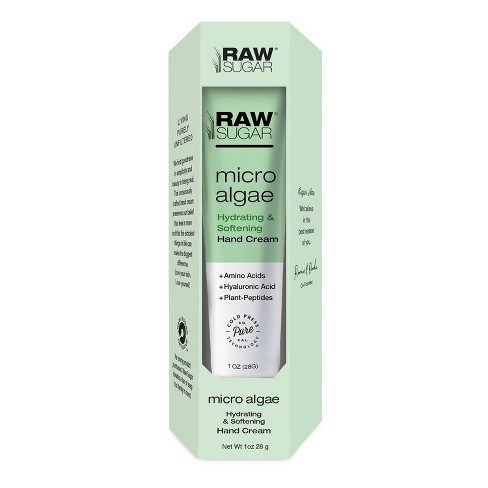 Raw Sugar  Micro Algae Hydrating & Softening Hand Cream - 1oz - image 1 of 3