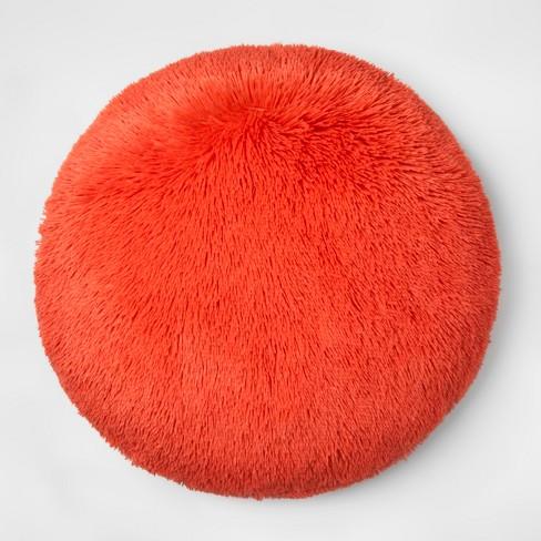 Faux Fur Floor Pillow - Pillowfort™ - image 1 of 2
