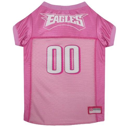 new arrivals 024c7 f2c1a NFL Pets First Pink Pet Football Jersey - Philadelphia Eagles