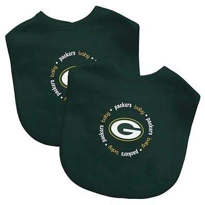 Green Bay Packers Baby Fanatic Bibs - 2 Pack
