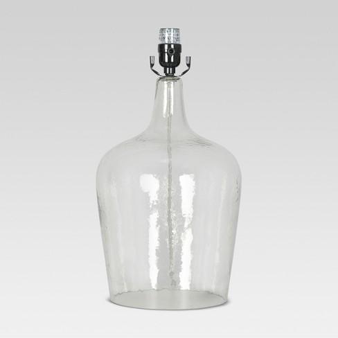 artisan glass jug large lamp base clear threshold target. Black Bedroom Furniture Sets. Home Design Ideas