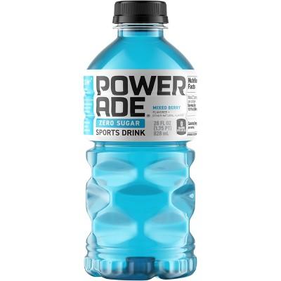 POWERADE Zero Mixed Berry Sports Drink - 28 fl oz Bottle
