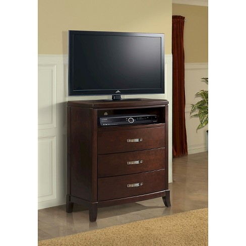 Dacey 3-Drawer Media Chest Espresso - Picket House Furnishings® - image 1 of 2