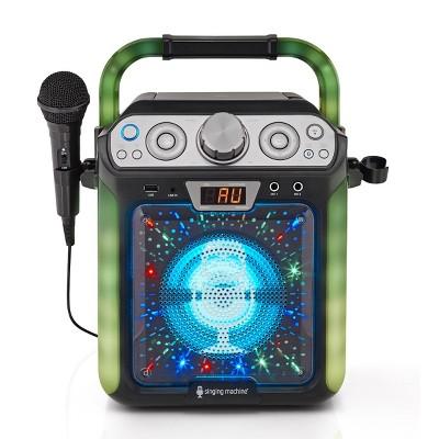Singing Machine SML682BTBK Groove Cube Karaoke Black